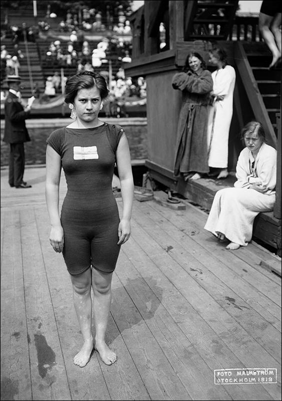 greta johansson os 1912