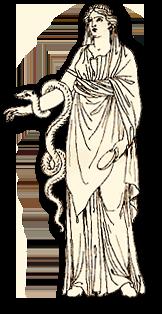läkekonstens gudinna grekland
